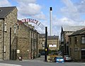 Entrance to Hainsworth's Mill - Stanningley Bottom - geograph.org.uk - 371396.jpg