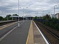 Epsom station platform 1 look north.JPG