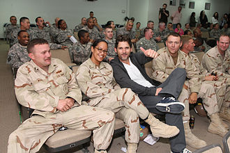 Camp Arifjan - Eric Bana in Camp Arifjan