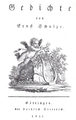 Ernst Schulze Gedichte 1813.png