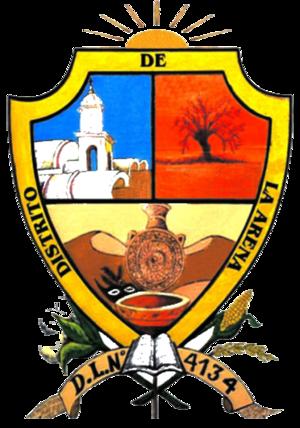 La Arena District - Image: Escudo La Arena