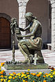 Escultura de J. Viladomat perante a igrexa parroquial de Sant Pere Màrtir. Escaldes-Engordany. Andorra 72.jpg