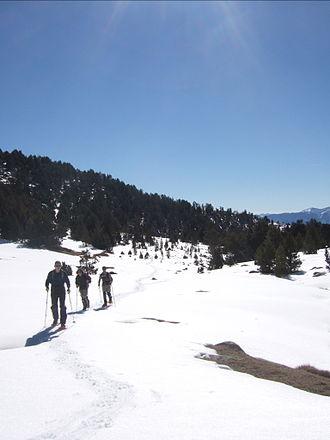 Lles (ski resort) - Image: Estació de Lles