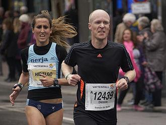 Berlin Half Marathon - Berlin Half Marathon 2015: Esther Hidalgo (5th), Dennis Klusmann (93rd)