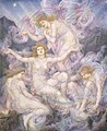 Evelyn de Morgan - Daughters of the Mist, 1905-1910.jpg