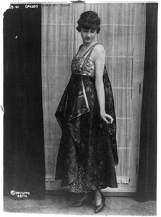 Callot Soeurs - A Callot Soeurs dress, circa 1915