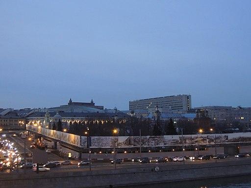 Ex hotel Rossia (Zaryadye, early 2010s) by shakko 02