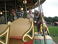 Excited riders at the Blists Hill Funfair - geograph.org.uk - 1461965.jpg