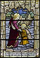 Exeter Cathedral, Stained glass window detail (36232922554).jpg