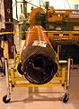 Exhausted SS1 Rocket engine in the Scale Composites building photo D Ramey Logan.jpg