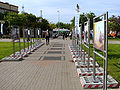 "Exhibition of publicity photographs of movie ""Black Thursday"" during XXXV Polish Film Festival in Gdynia 2010 - 3.jpg"