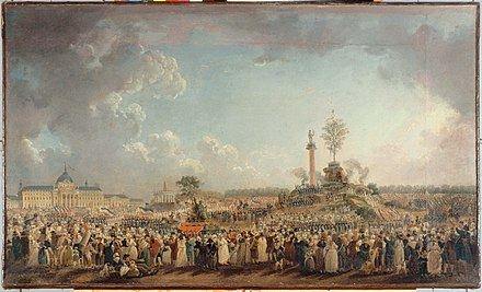 The Festival of the Supreme Being, by Pierre-Antoine Demachy (1794) Fete de l'Etre supreme 2.jpg