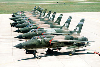 507th Air Refueling Wing - F-105s of the 465th Tactical Fighter Squadron
