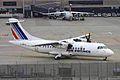 F-GPYA ATR.42-512 AF-Airlinair ZRH 30SEP08 (5931860416).jpg
