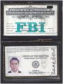 F.I. Bradford's FBI credentials.webp