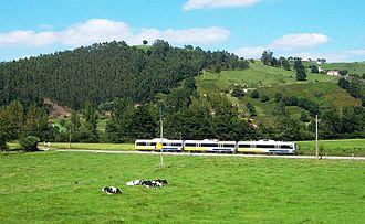 Renfe Feve - FEVE unit from Santander to Liérganes.