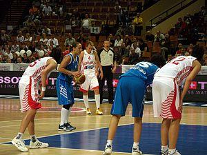 Panathinaikos women's basketball - Image: FIBA Euro Basket Women 2011 Dimitra Kalentzou Free Throws