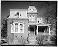 FRONT ELEVATION - William Carroll House, Harrison and Eleventh Streets, Lynchburg, Lynchburg, VA HABS VA,16-LYNBU,49-1.tif