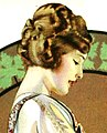 Face detail, from- Adams California Fruit Gum by C Coles Phillips 1920 (cropped).jpg