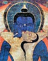Faces detail, Adi-Buddha Samantabhadra (cropped).jpg