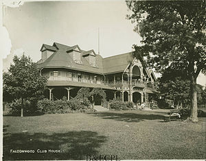 George E. Matthews - Image: Falconwood Club House Grand Island, NY