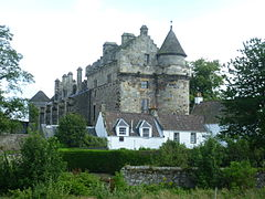 Falkland Palace from the Orchard.JPG