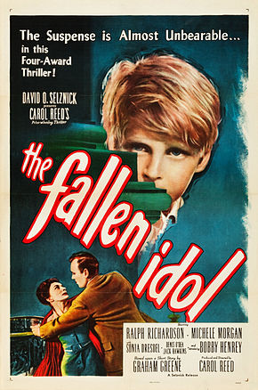 Description de l'image Fallen-Idol-Poster-1948.jpg.
