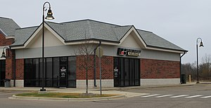 American Farm Bureau Federation - Farm Bureau office, Pinckney, Michigan