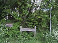 Farm nameboard. - geograph.org.uk - 174529.jpg