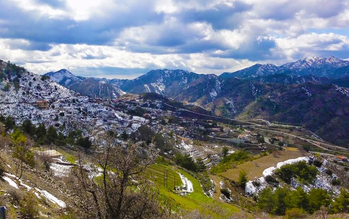 Farmakas Mountains, Cyprus