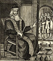 The Examination And Trial Of Father Christmas 1686 Published After Was Reinstated As A Holy Day In England