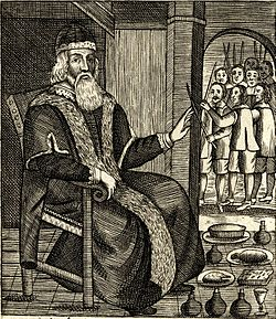 Father Christmas As Illustrated In Josiah Kings Two Pamphlets Of