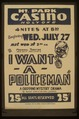 "Federal Theatre Project presents ""I want a policeman"" LCCN98516927.tif"