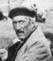 Federico Luppi. En el personaje de Facón Grande, en «La Patagonia Rebelde», 1974.