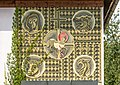 Feldkirchen Kirchgasse 36 neuer Pfarrhof Sgraffito 4 Evangelisten 02082018 6127.jpg