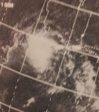 1970 Atlantic hurricane season - Image: Felice Sep 1519702043z ITOS1