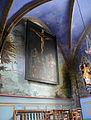 Felletin - Église Sainte-Valérie - Chapelle des Lissiers - Peintures.JPG