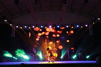 Getai - The Current Stage setup for major getai events C:2014