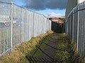 Fenced path, Crook - geograph.org.uk - 338035.jpg