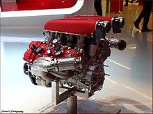 Ferrari engine specifications