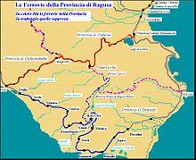 Ferrovie della Provincia di Ragusa