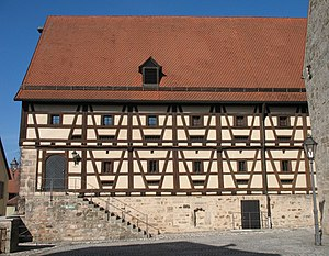 Feuchtwangen - Feuchtwangen Kasten now municipal hall