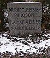 Feuerhalle Simmering - Urnenhain (Abteilung 3) - Rudolf Eisler 02.jpg