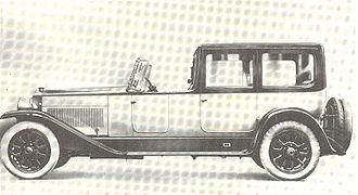 Fiat 520 - Fiat 520 Superfiat Dorsay-Torpedo 1921