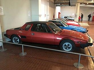 """Fiat X1/9 - X1/9 """"Passo Lungo"""" prototype"""
