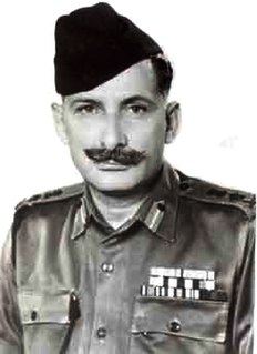 Sam Manekshaw First Field marshal of the Indian Army