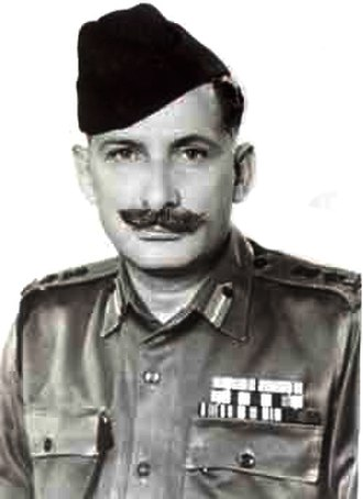Sam Manekshaw - Field Marshal Sam Manekshaw (pictured wearing general's insignia c. 1970)