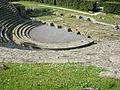 Fiesole, area archeologica, teatro 02.JPG