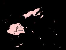 Divisioni delle Isole Fiji