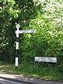 Fingerpost - Great Warley - geograph.org.uk - 173849.jpg